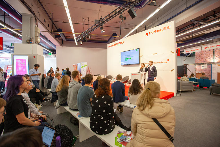 Frankfurter Buchmesse Young Professionals Day auf EDU Stage