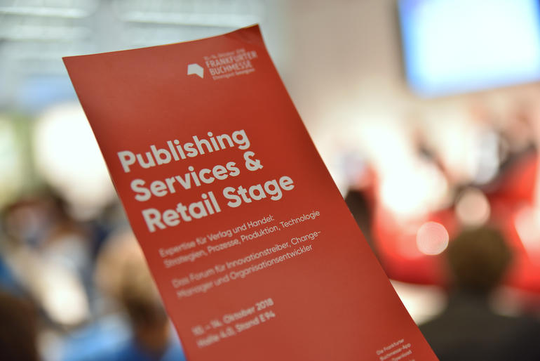 Publishing Services Retail Broschuere