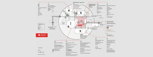 Hall plan Frankfurter Buchmesse