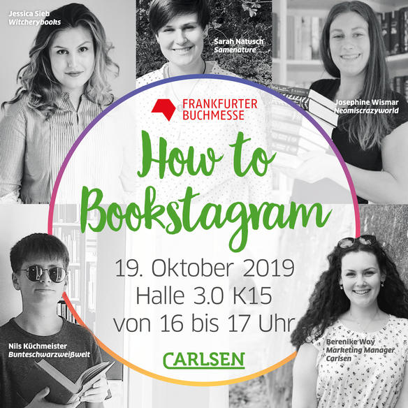 Frankfurt Authors How to bookstagram