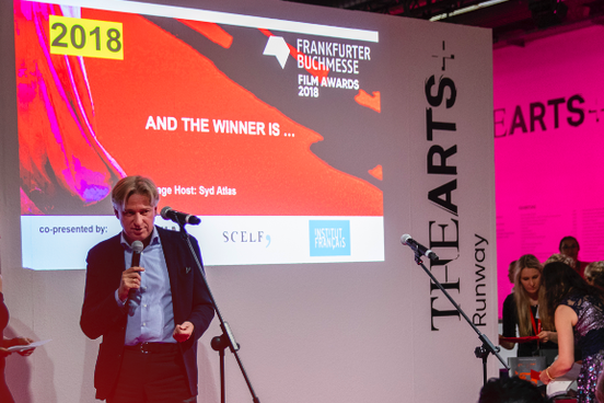 Verleihung des Buchmesse Film Awards