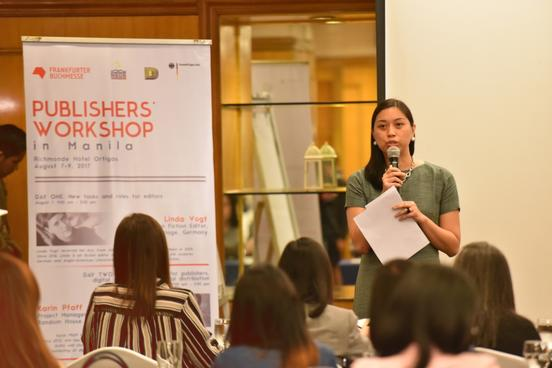 Sprecherin Publishers Workshop Manila