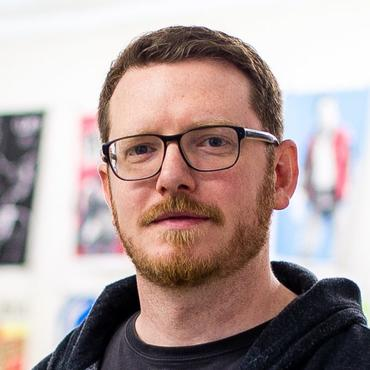 Ein Portrait des Illustrators Martin Burkhardt