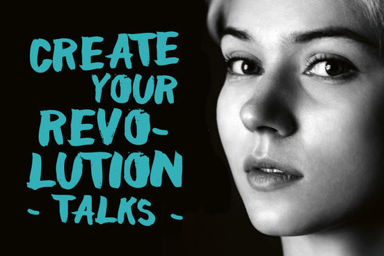 Create Your Revolution auf der Frankfurter Buchmesse
