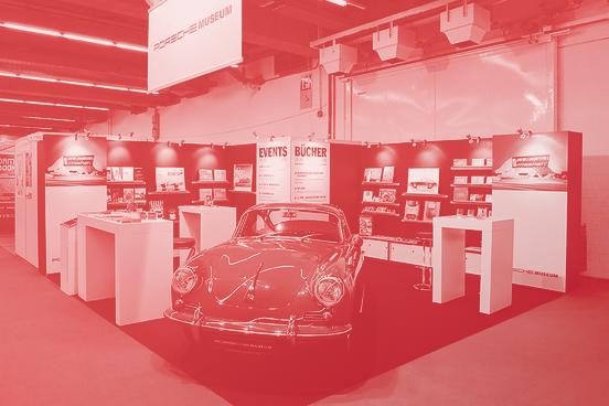 Systemstand Deluxe Auto Oldtimer im Stand