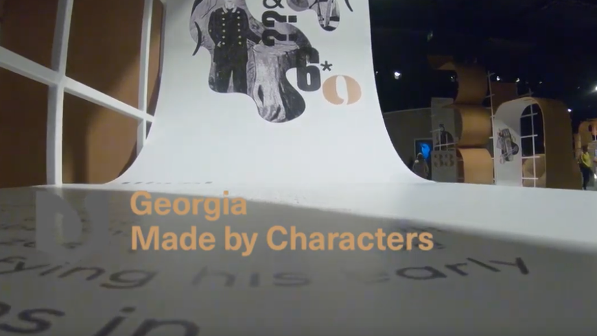 "Video zum Ehrengast Georgien auf der Frankfurter Buchmesse 2018 - ""Georgia - Made by Characters"""