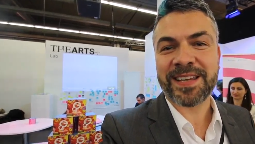 THE ARTS+ YouTube-Tour auf der Frankfurter Buchmesse