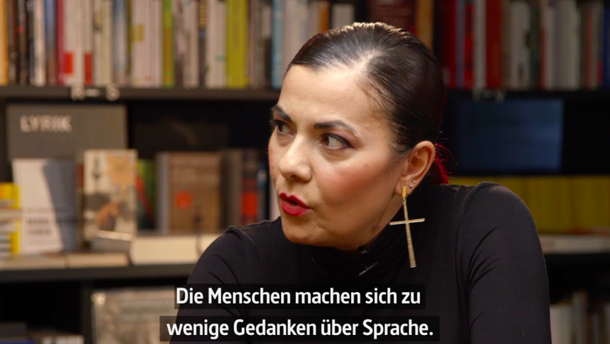 Zischler und Lady Bitch bei Create Your Revolution Talks